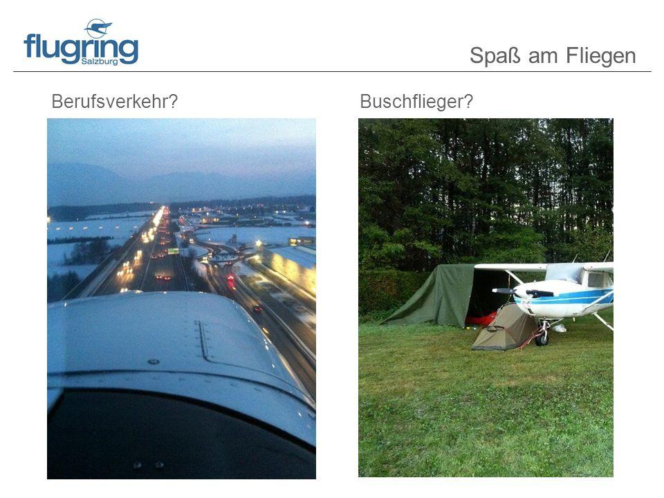 Berufsverkehr?Buschflieger? Spaß am Fliegen
