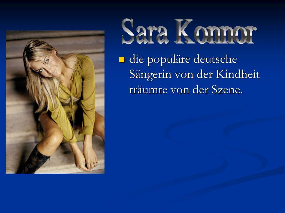 die populäre deutsche Sängerin von der Kindheit träumte von der Szene. die populäre deutsche Sängerin von der Kindheit träumte von der Szene.