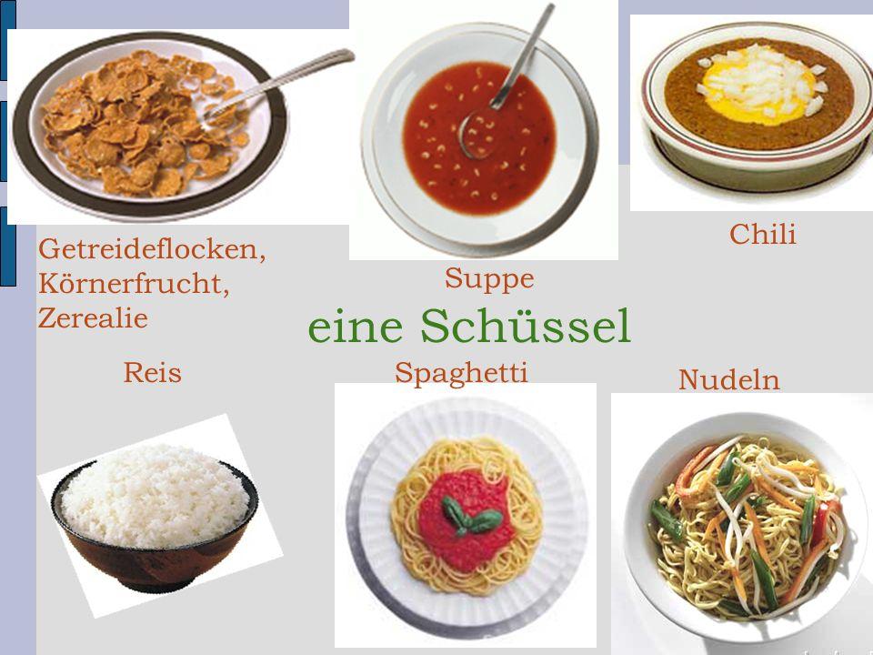 Nudeln Chili Suppe Spaghetti Getreideflocken, Körnerfrucht, Zerealie Reis eine Schüssel