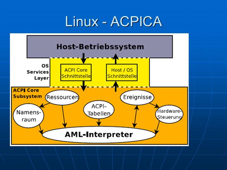 Linux - ACPICA