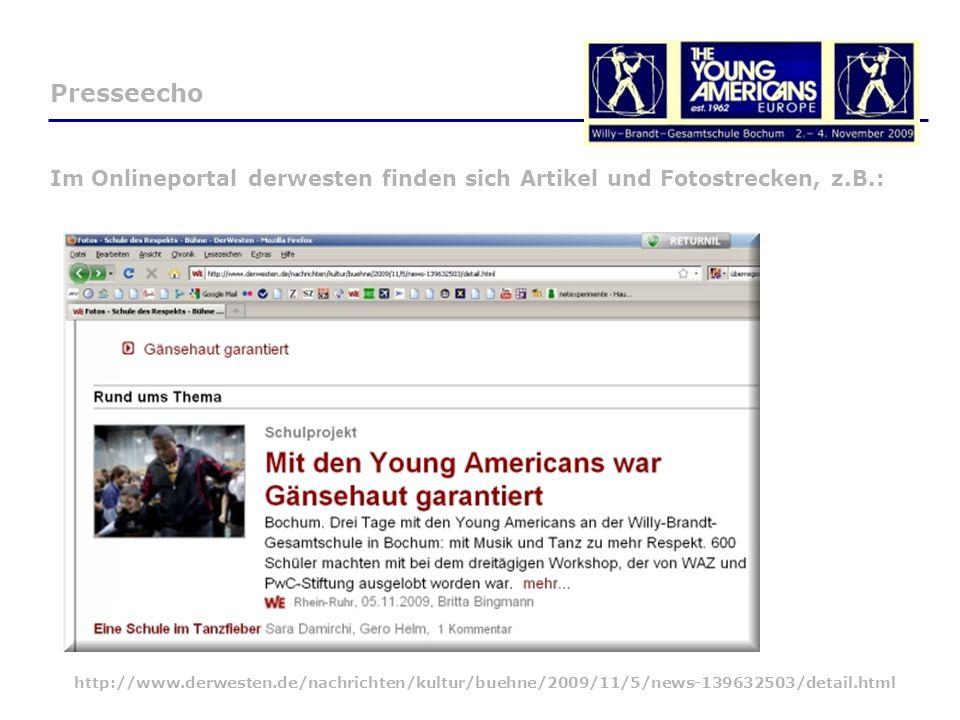 Im Onlineportal derwesten finden sich Artikel und Fotostrecken, z.B.: http://www.derwesten.de/nachrichten/kultur/buehne/2009/11/5/news-139632503/detail.html