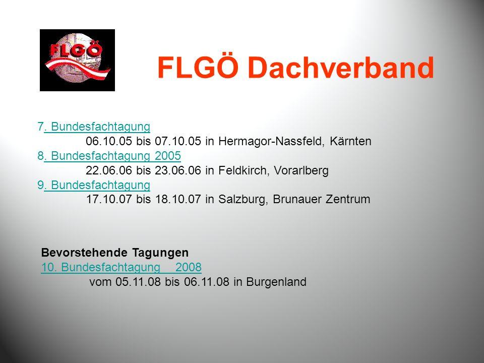 FLGÖ Dachverband 7. Bundesfachtagung. Bundesfachtagung 06.10.05 bis 07.10.05 in Hermagor-Nassfeld, Kärnten 8. Bundesfachtagung 2005. Bundesfachtagung