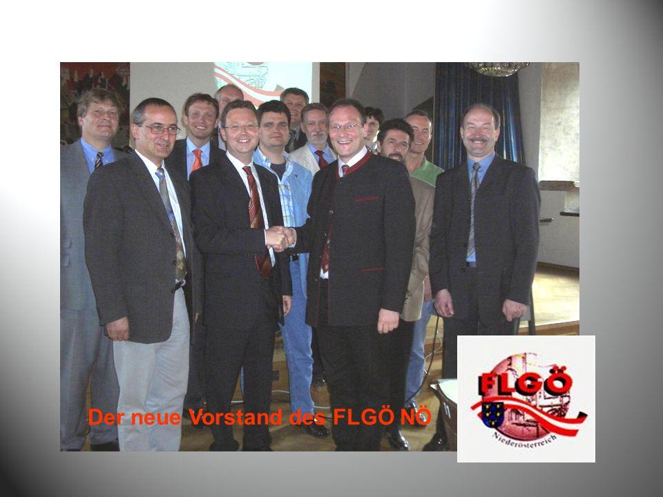 Der neue Vorstand des FLGÖ NÖ