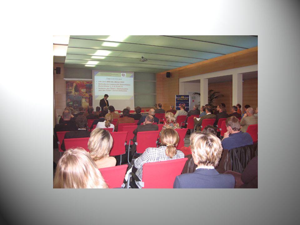 Unsere weiteren ZIELE Verbesserung des Informations- und Wissensaustausches der leitenden Gemeindebediensteten untereinander Verstärkung unserer Kooperationen Bundesfachtagung 2010?