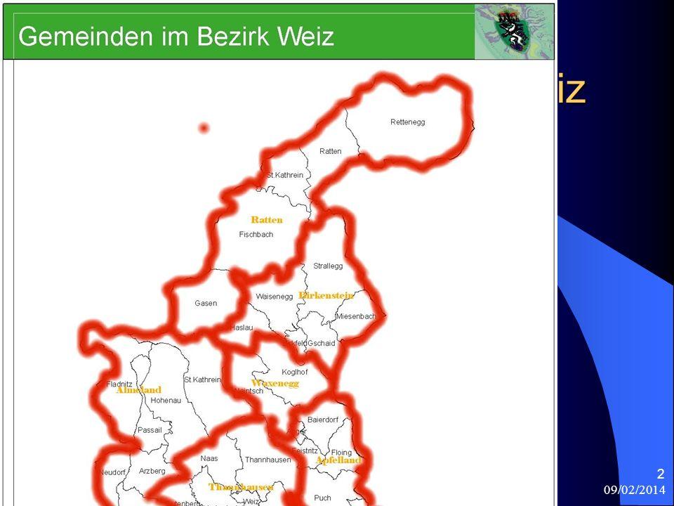 09/02/2014 Antonio Celeri 2 I comuni del distretto di Weiz Propongo in una seconda cartina,la divisione storica del distretto di Weiz,estrapolando il Markt Unterfladnitz dalla 1)Contea di Freiberg,2)Contea di Herberstein,3)Apfelland,4)Signoria di Waxenegg,5)Signoria di Birkenstein,6)Almenland,7)Baronia di Thannhausen e 8)Signoria di Ratten.