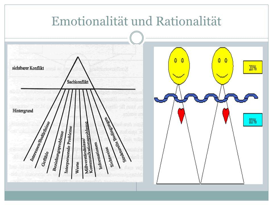 Emotionalität und Rationalität