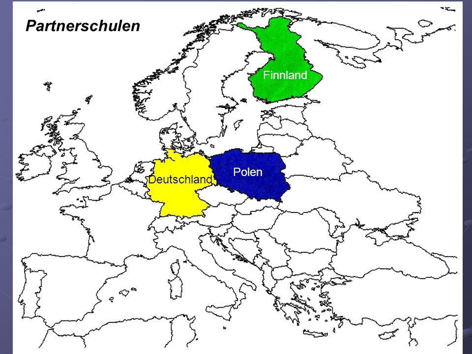 Polen Deutschland Finnland Partnerschulen