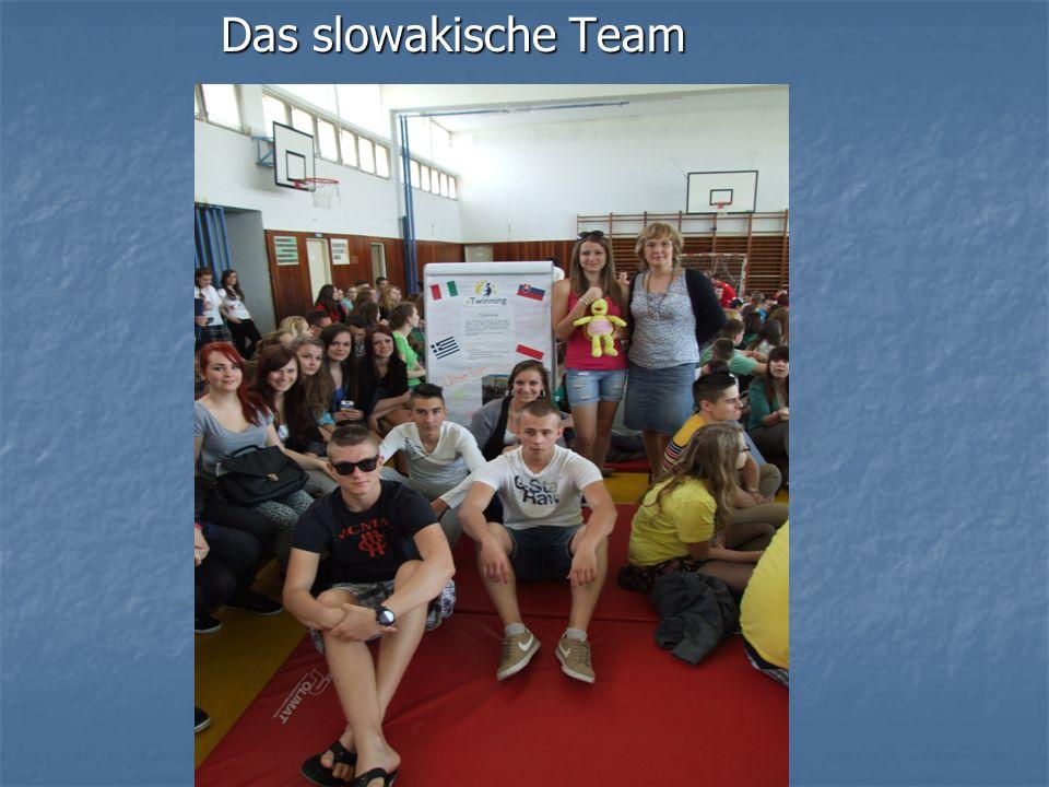 Das slowakische Team Das slowakische Team