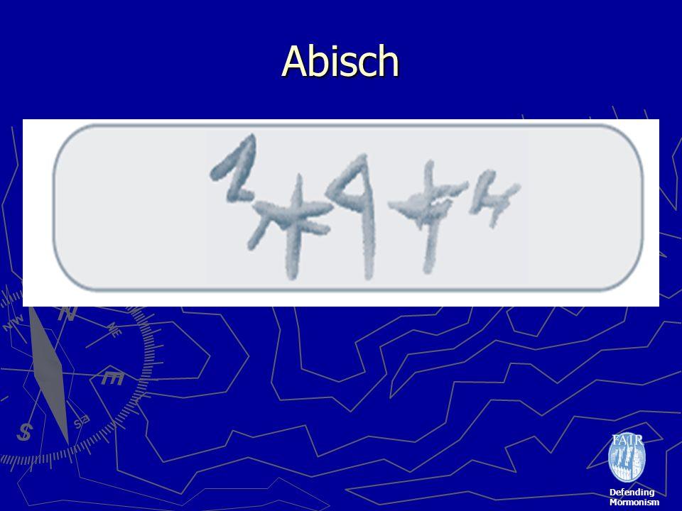 Defending Mormonism Abisch