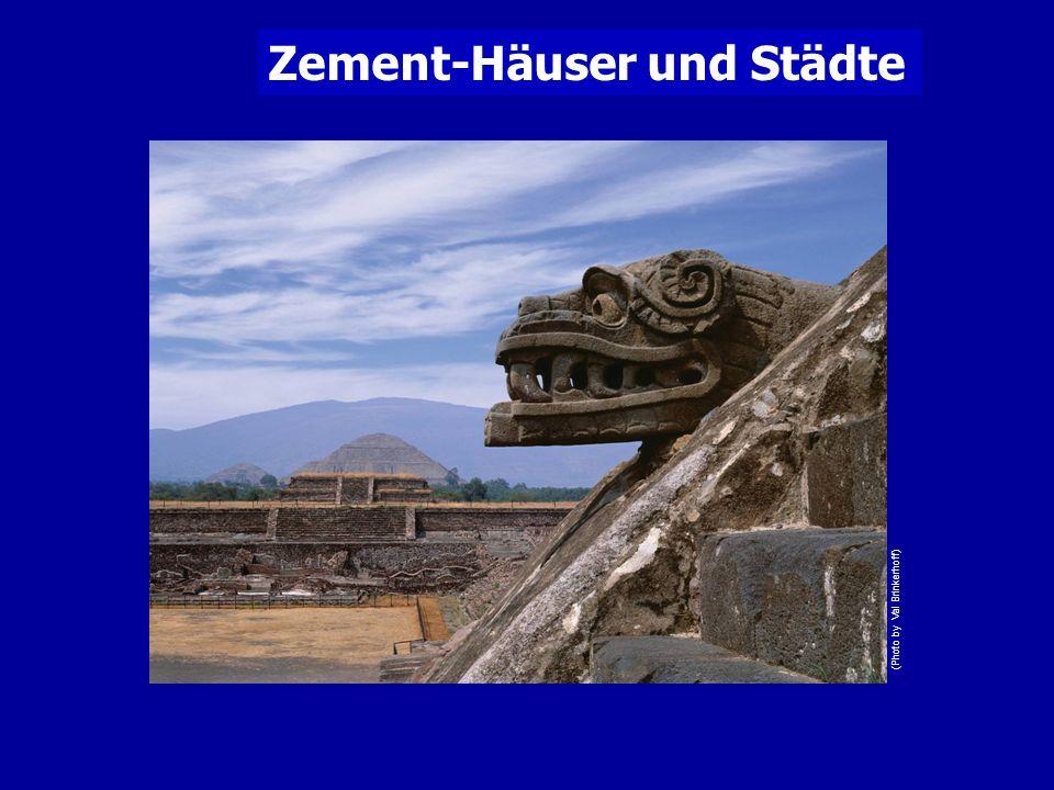 Zement-Häuser und Städte (Photo by Val Brinkerhoff)