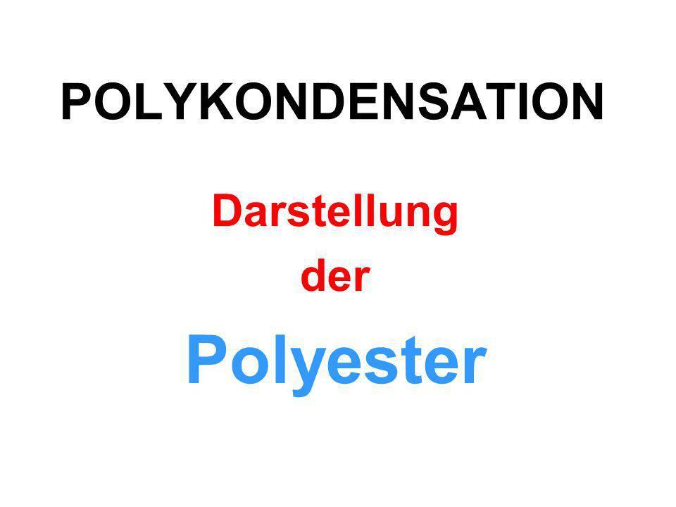 Bei einer Polykondensation vereinigen sich viele Mono- mere zu Makromolekülen,…