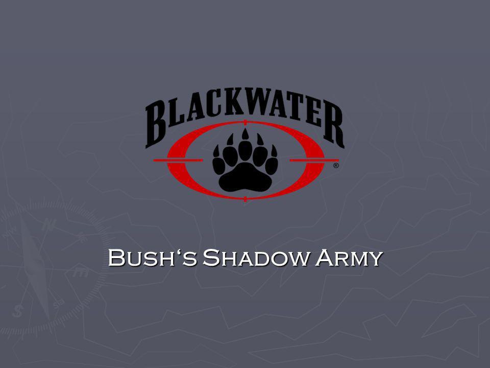 Was ist Blackwater USA.