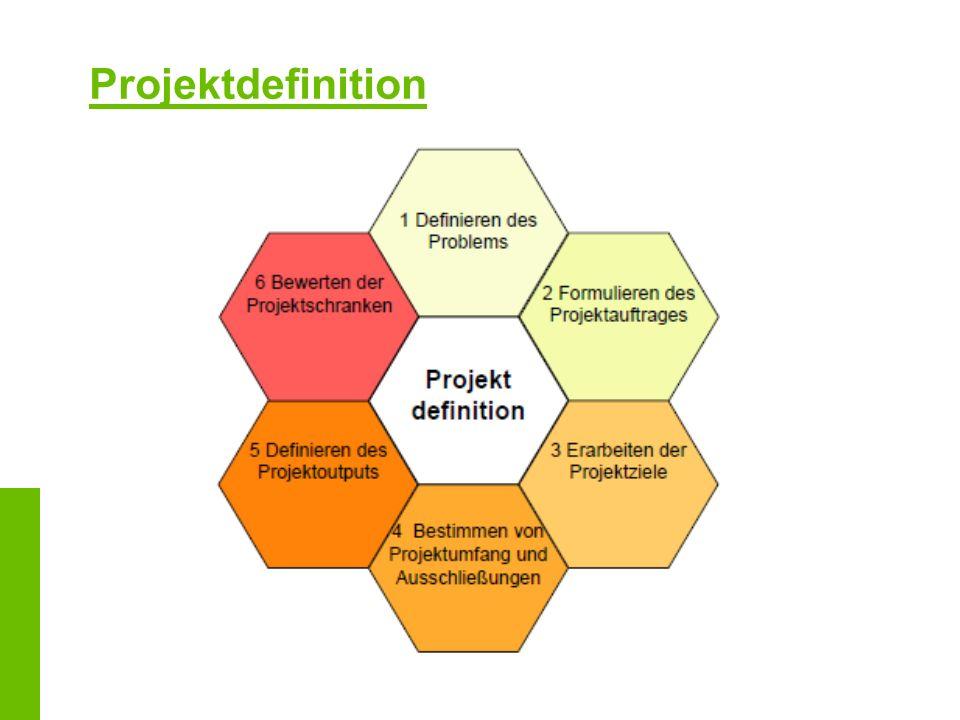 Projektdefinition