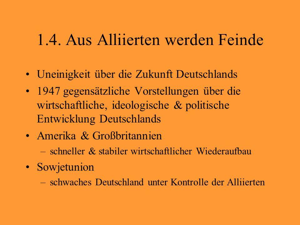 26.August 1961 Schließung aller Grenz- übergänge für West- Berliner Bürger Bau der 1.