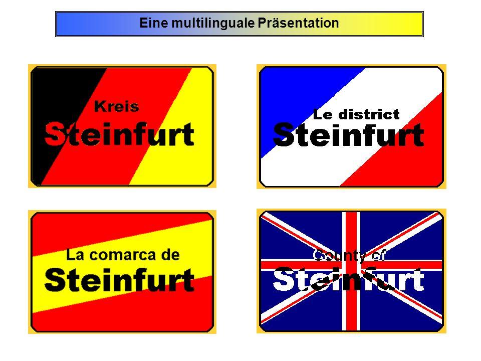 minicipio/ ciudad 1995mujer bajo2005mujer bajola alteración tótalpasado año tótalpasado año tótalpasado año Emsdetten 33.66517.11350,835.49918.13251,1+1.834+5,5 Ibbenbüren 47.42124.29351,251.01025.88850,8+3.589+7,57 Rheine 74.58737.57050,476.44038.44250,3+1.853+2,48 Steinfurt 33.26816.76550,434.56017.40950,4+1.292+3,88 Entre los años 1995 y 2005 la población de la comarca de Steinfurt aumentó en 27.979 a 444.231 de habitantes.