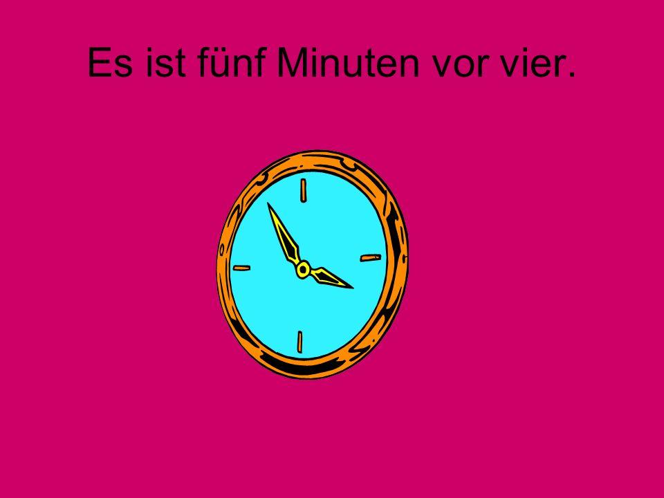 Es ist zehn Minuten nach zehn.