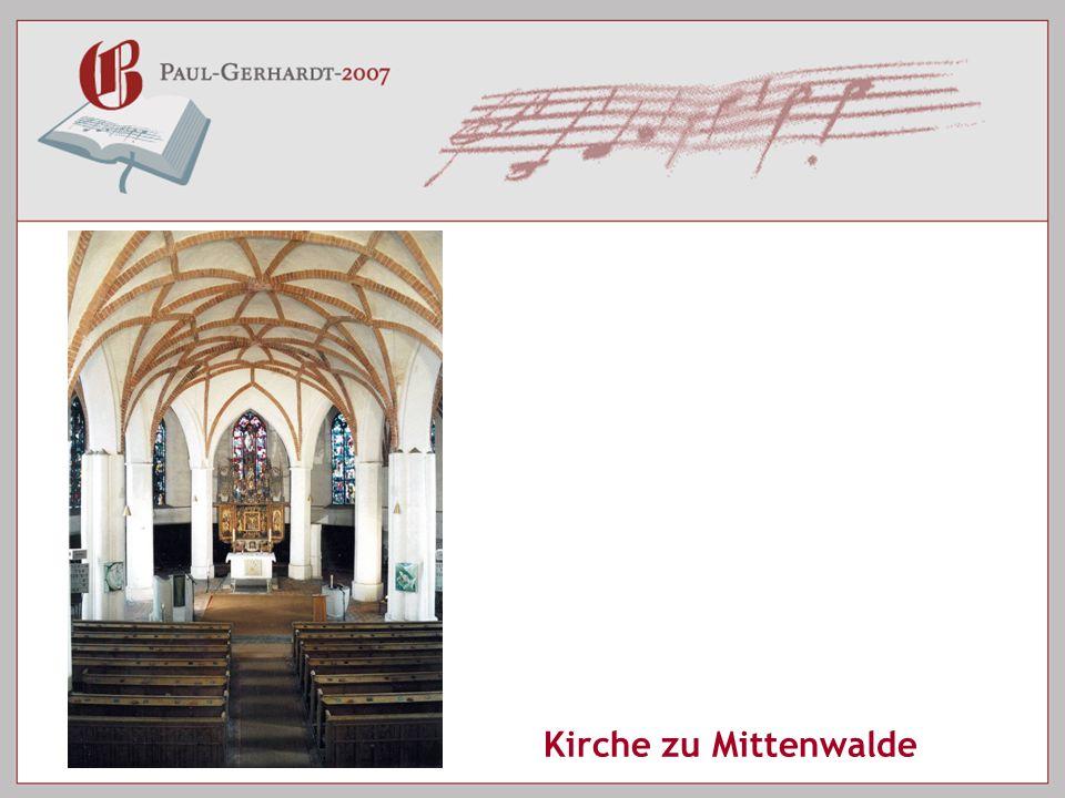 Kirche zu Mittenwalde