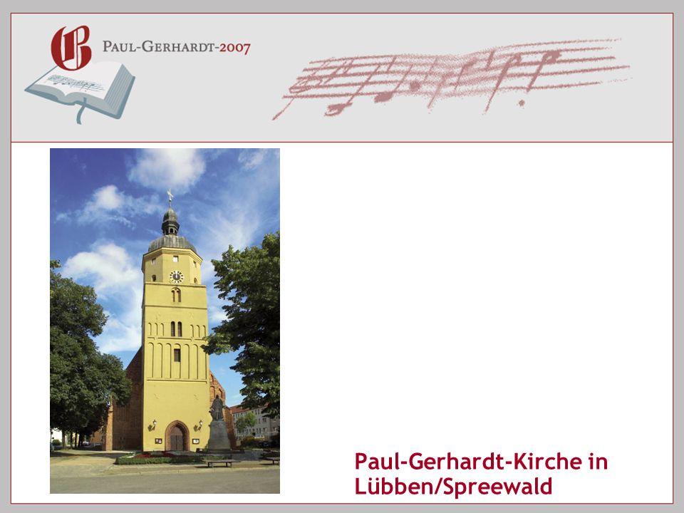 Paul-Gerhardt-Kirche in Lübben/Spreewald