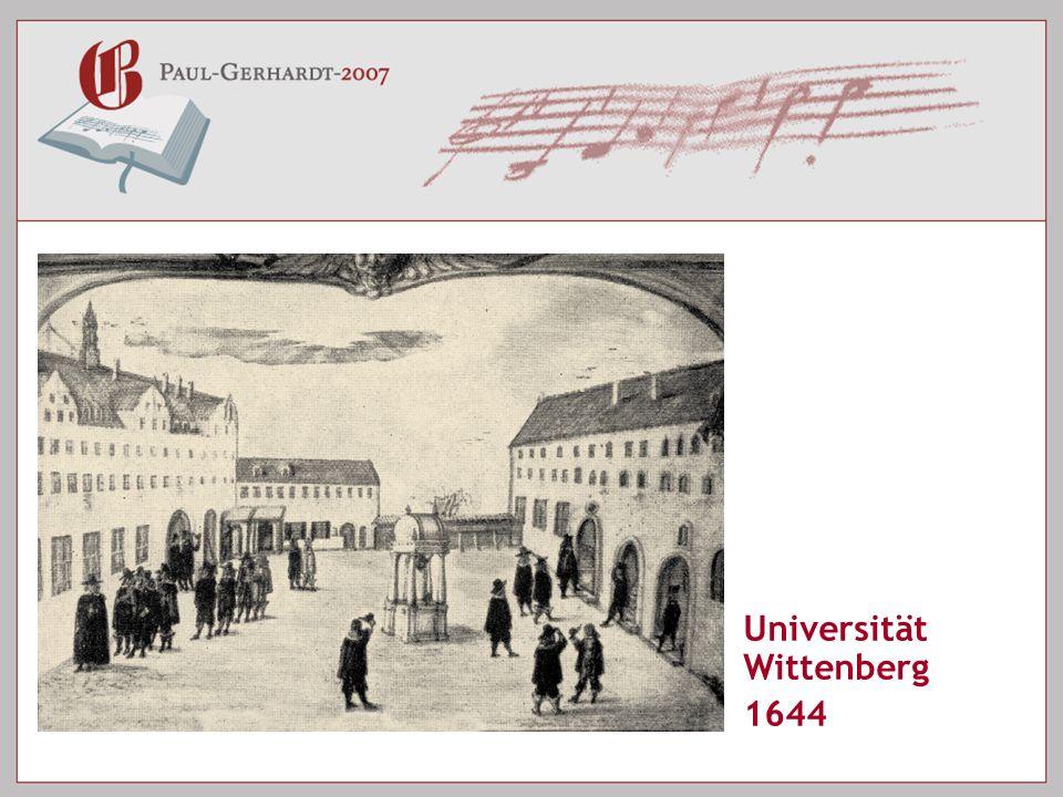 Universität Wittenberg 1644