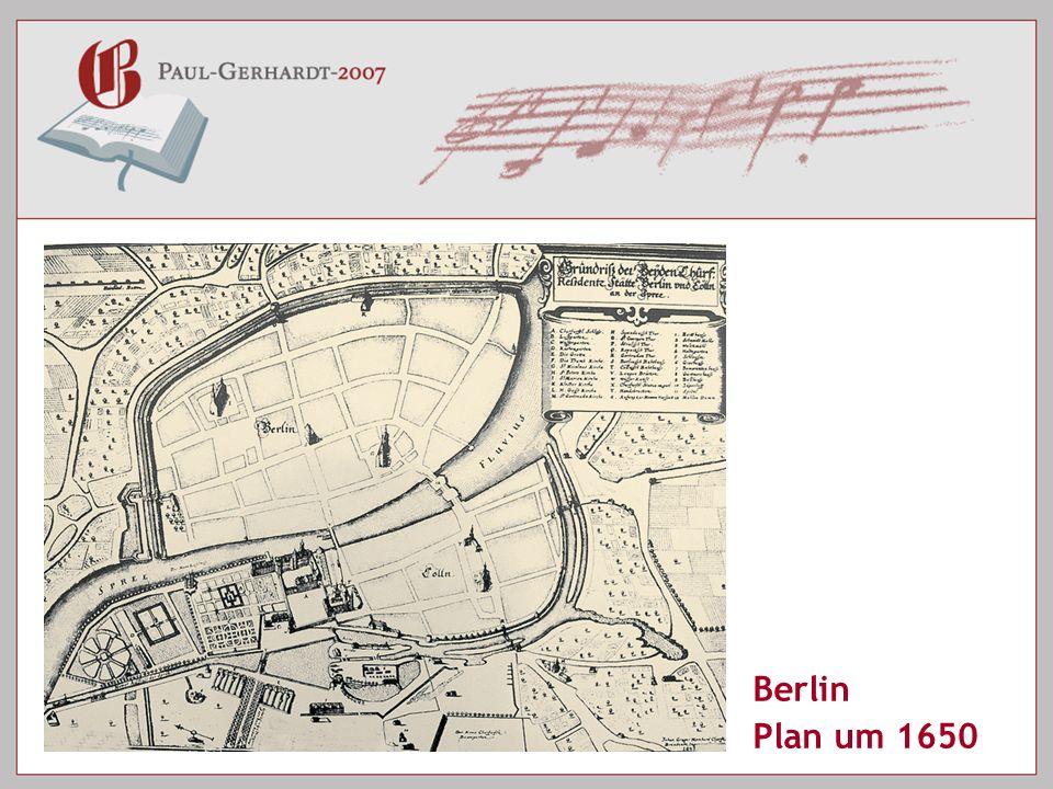 Berlin Plan um 1650