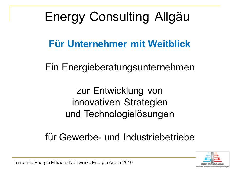 Energy Consulting Allgäu Für Unternehmer mit Weitblick Ein Energieberatungsunternehmen zur Entwicklung von innovativen Strategien und Technologielösun