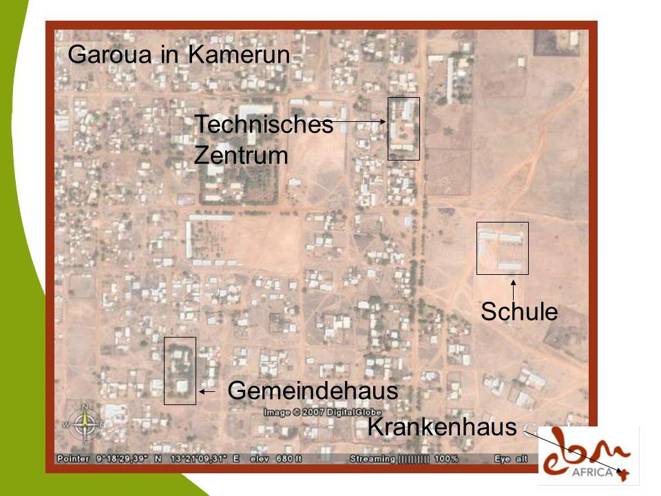 Technisches Zentrum Garoua in Kamerun Schule Gemeindehaus Krankenhaus