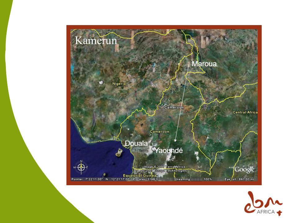Kamerun Yaoundé Maroua Douala