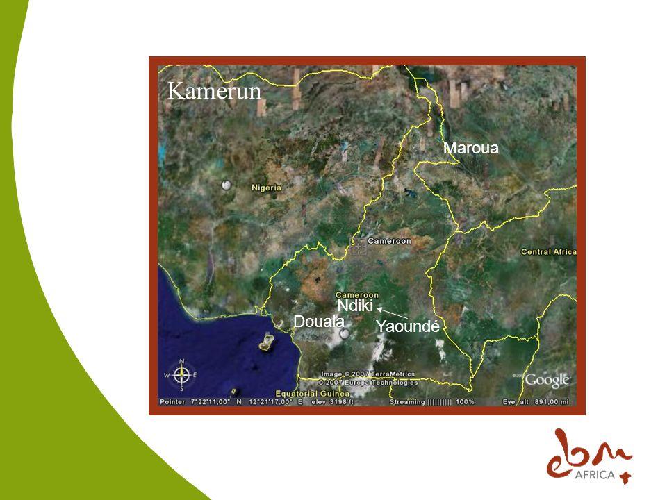 Kamerun Douala Yaoundé Maroua Ndiki