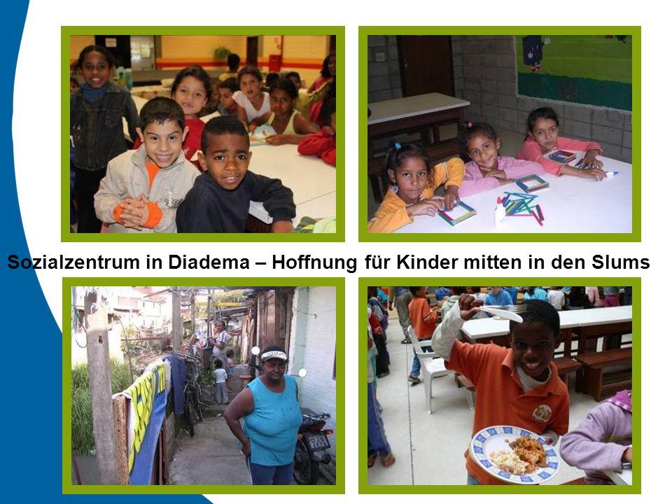 Sozialzentrum in Diadema – Hoffnung für Kinder mitten in den Slums