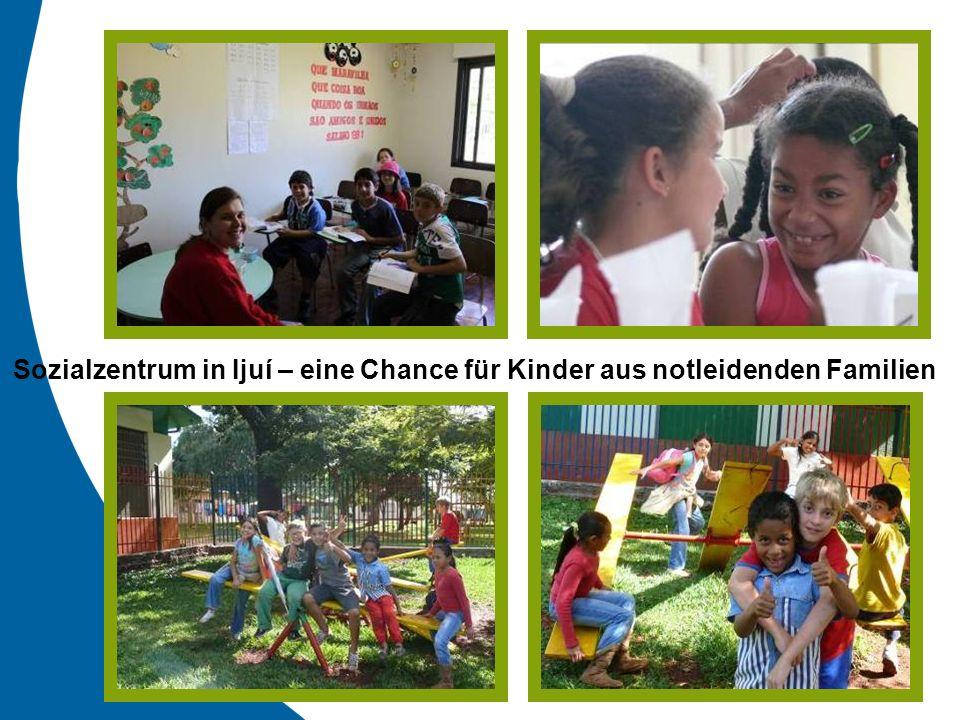 Sozialzentrum in Ijuí – eine Chance für Kinder aus notleidenden Familien