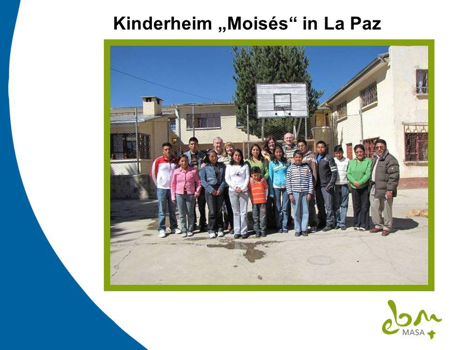Kinderheim Moisés in La Paz