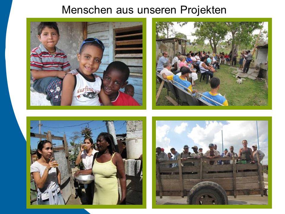 Menschen aus unseren Projekten