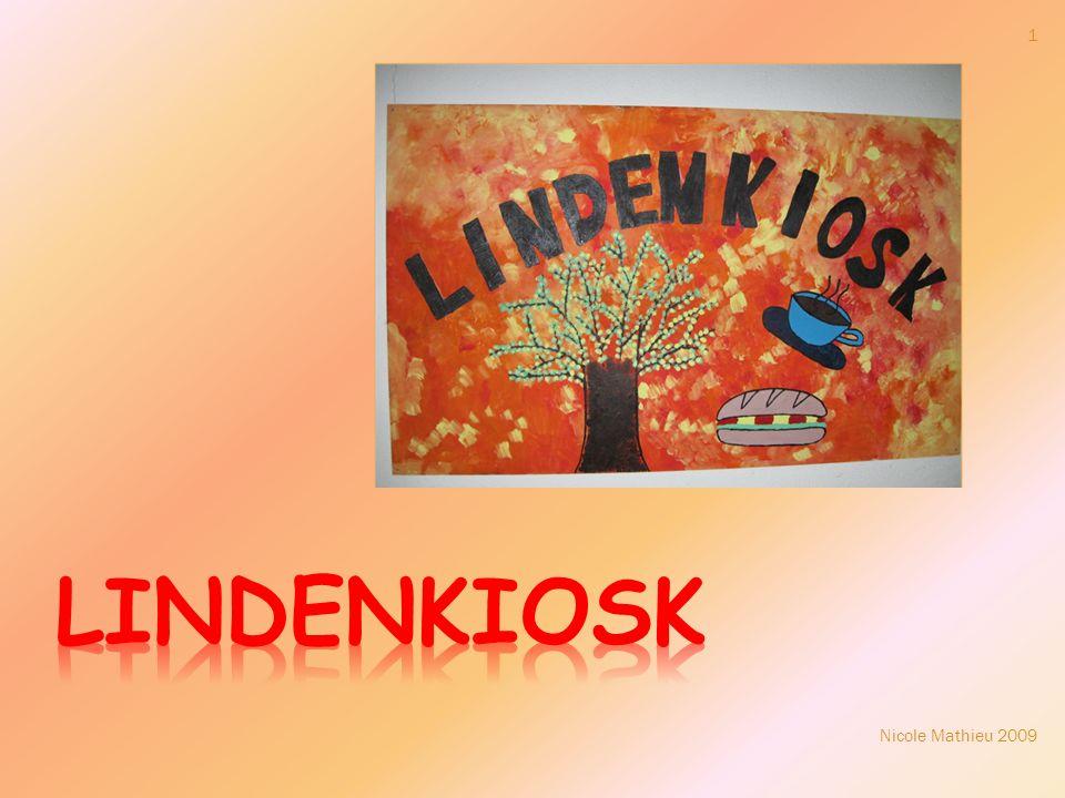 2 Der Lindenkiosk wurde im Rahmen des SME- Projekts (Schule mitgestalten und entwickeln) durchgeführt.