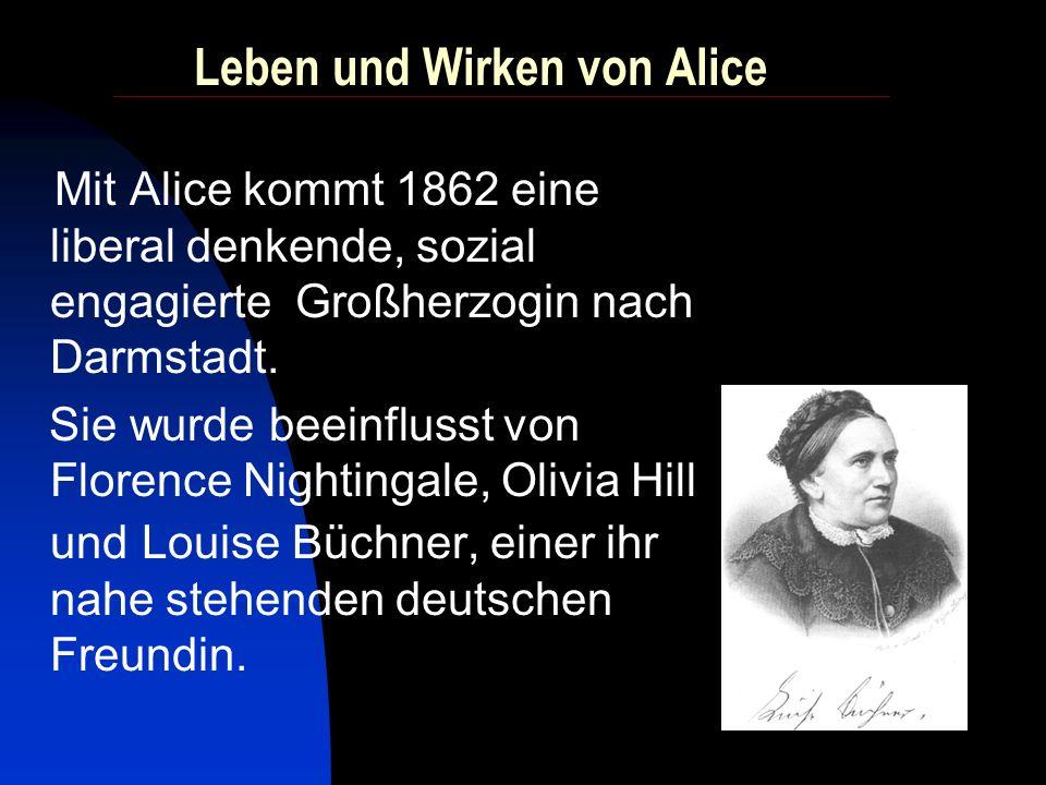 Wie kommt es zur Gründung der Aliceschule? Es war ein langer Weg...
