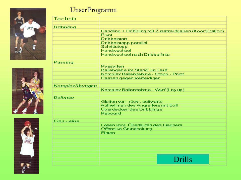 Drills Unser Programm