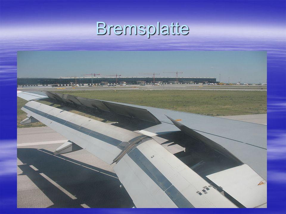 Bremsplatte