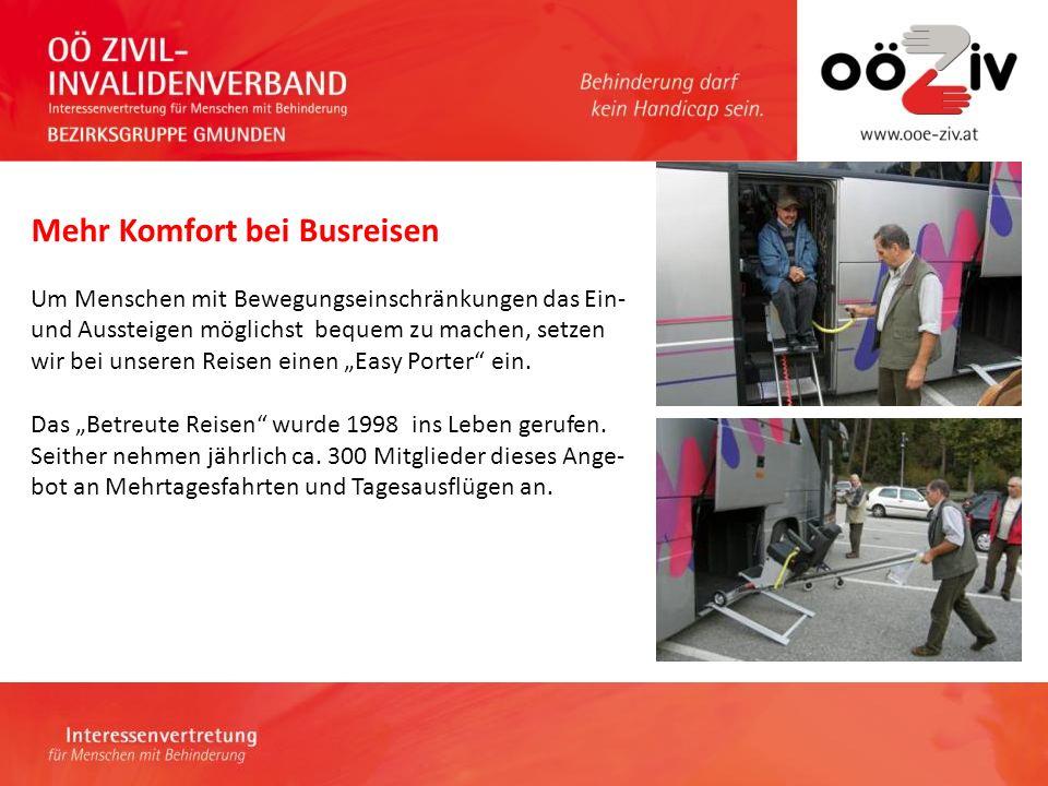 Kontaktadresse Obfrau: Erna Grininger Telefon:07612-64635 0664-73405177 E-Mail:gmunden@ooe-ziv.at Homepage: http://ooeziv-gmunden.heim.at