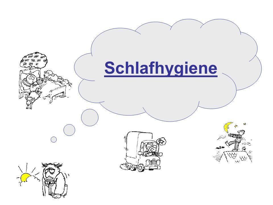 Projekt zur Prävention und Gesundheitsförderung im Krankenhaus Schlafhygiene
