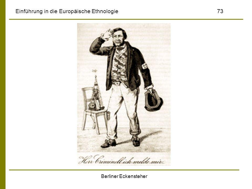 Berliner Eckensteher Einführung in die Europäische Ethnologie73