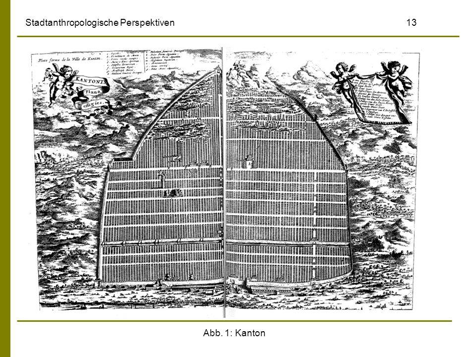 Abb. 1: Kanton Stadtanthropologische Perspektiven 13