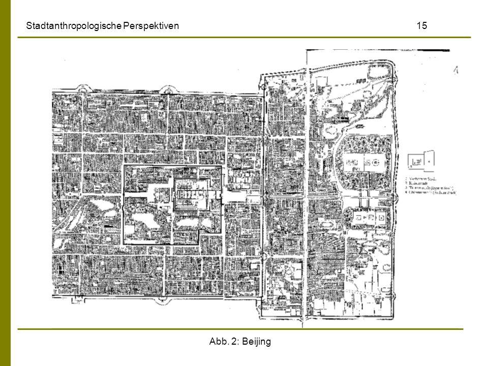 Abb. 2: Beijing Stadtanthropologische Perspektiven 15