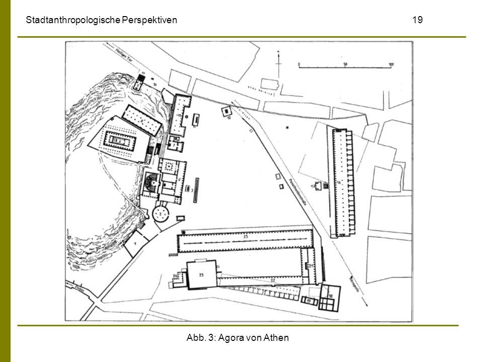 Abb. 3: Agora von Athen Stadtanthropologische Perspektiven 19