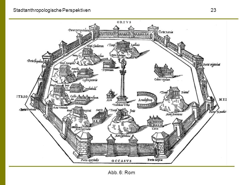 Abb. 6: Rom Stadtanthropologische Perspektiven 23