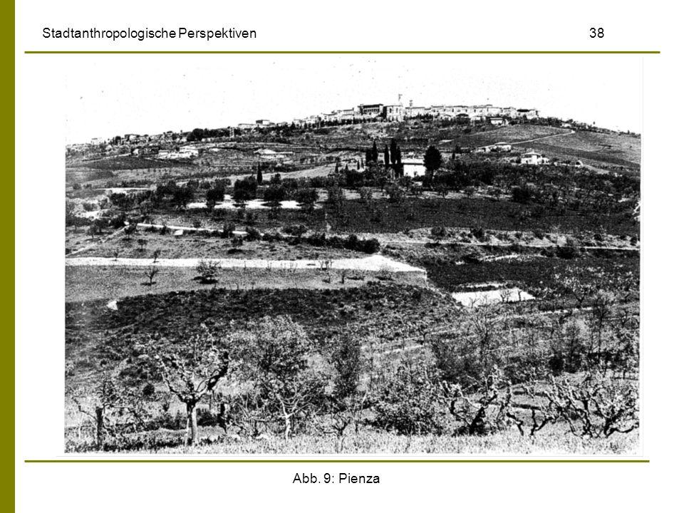 Abb. 9: Pienza Stadtanthropologische Perspektiven 38