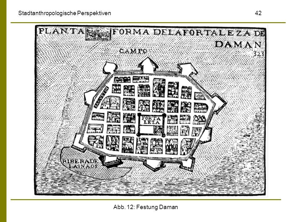 Abb. 12: Festung Daman Stadtanthropologische Perspektiven 42
