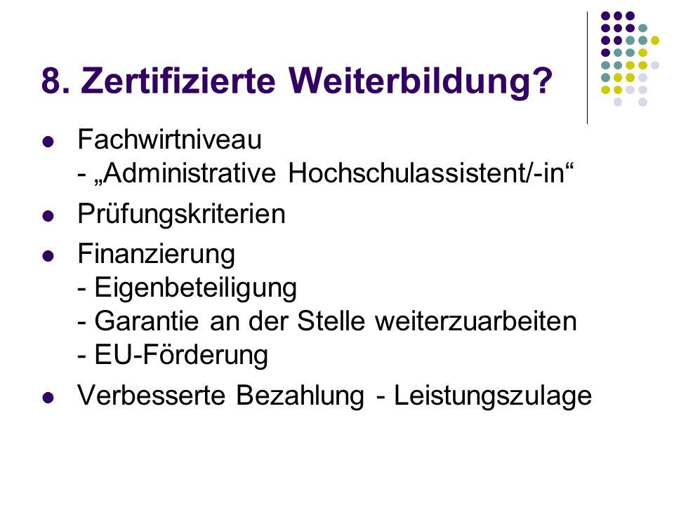 8.Zertifizierte Weiterbildung.