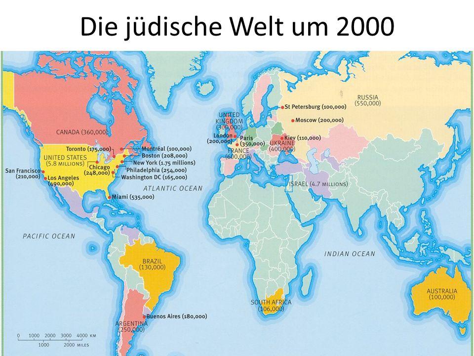 Die jüdische Welt um 2000