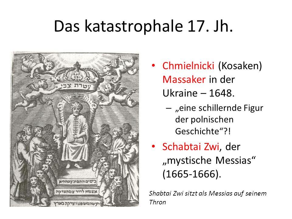 Das katastrophale 17.Jh. Chmielnicki (Kosaken) Massaker in der Ukraine – 1648.