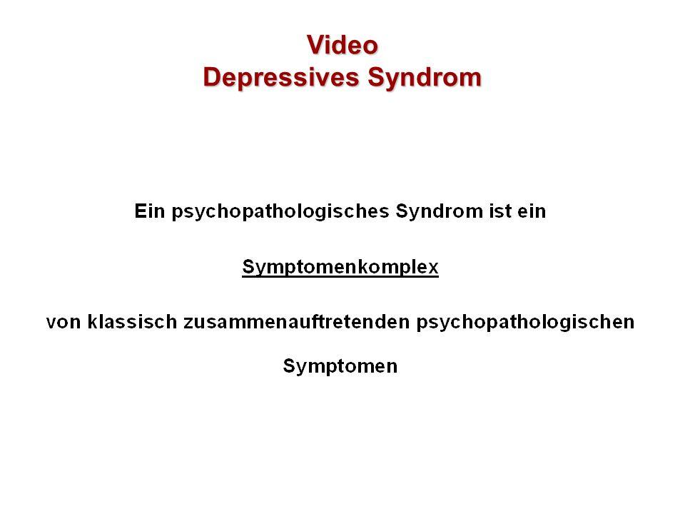 Video Depressives Syndrom