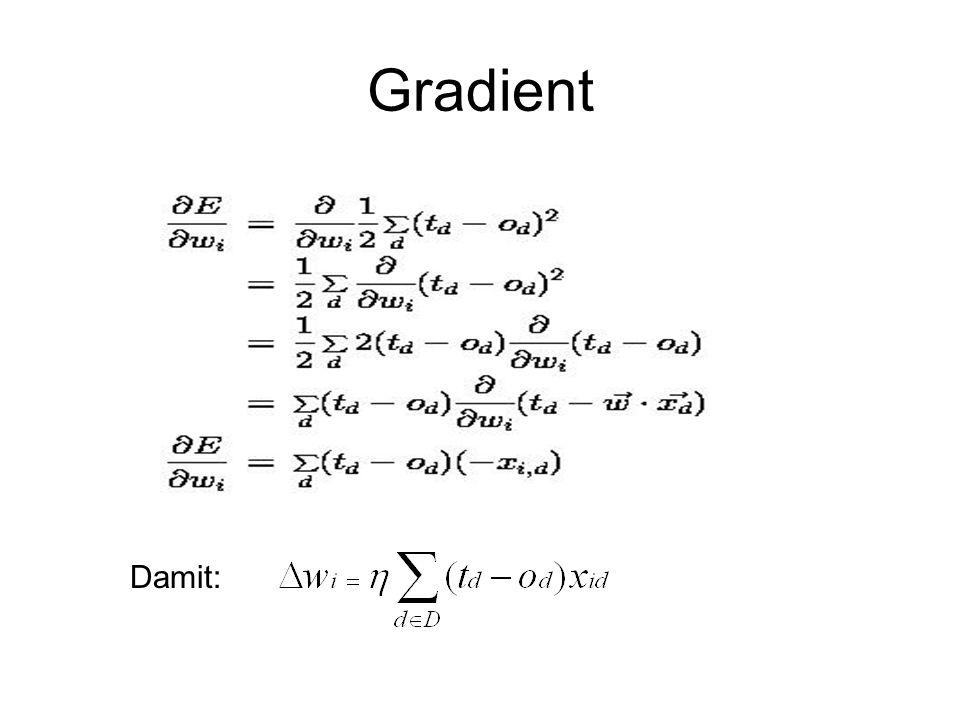 Gradient Damit: